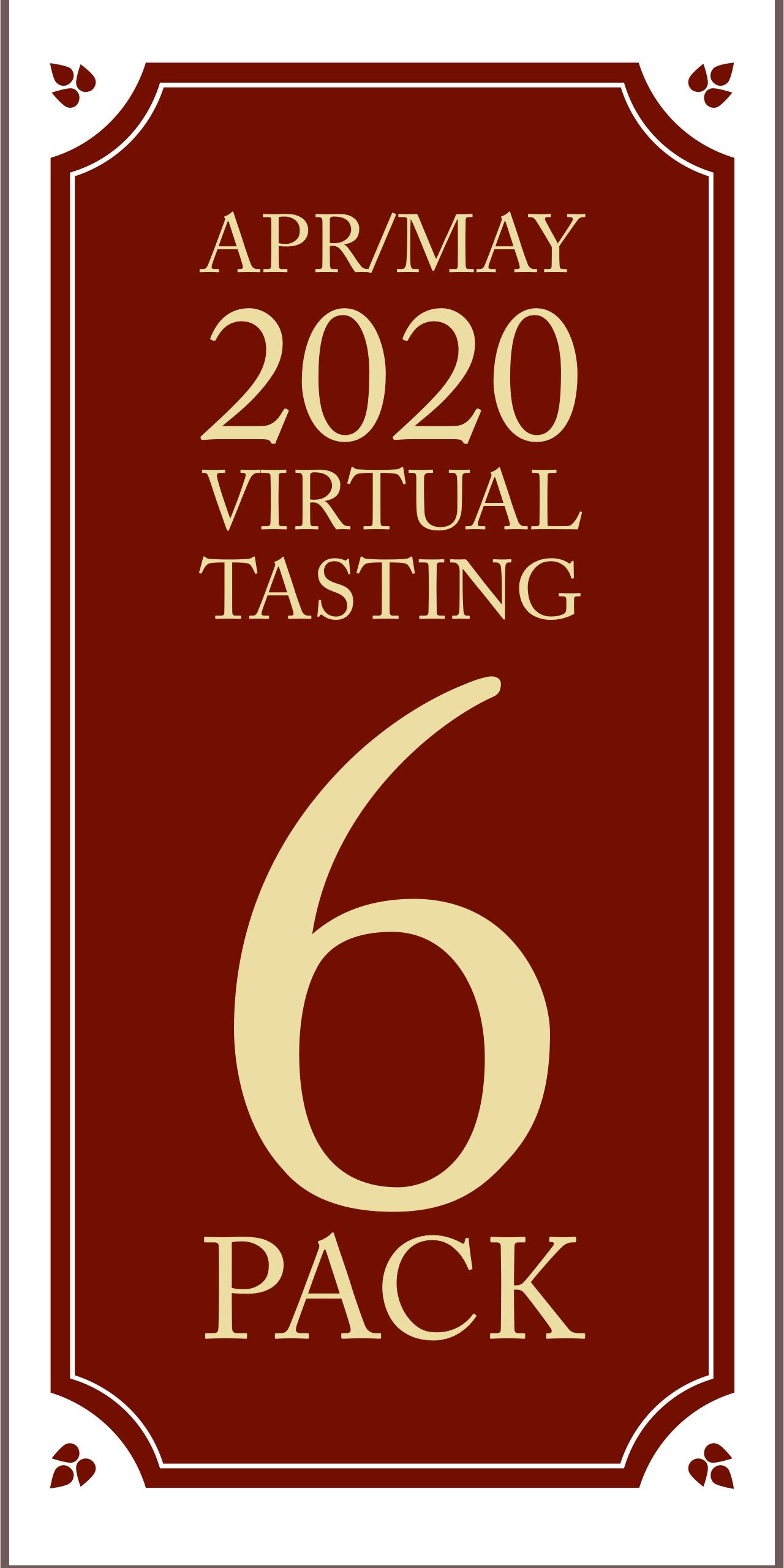 April/May 2020 Virtual Tasting 6 pack #2 (6x750ml)