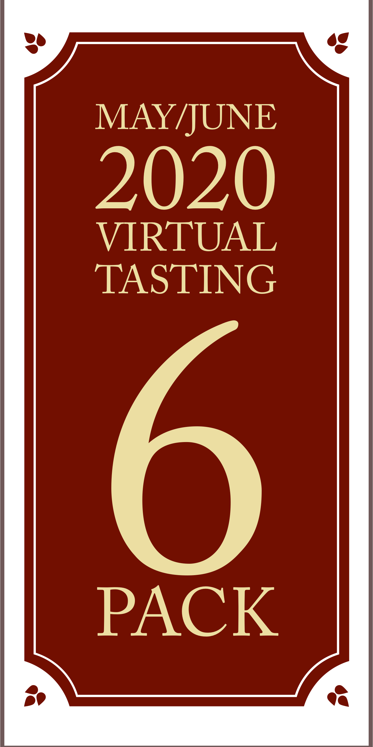 May/June 2020 Virtual Tasting 6 pack #3 (6x750ml)