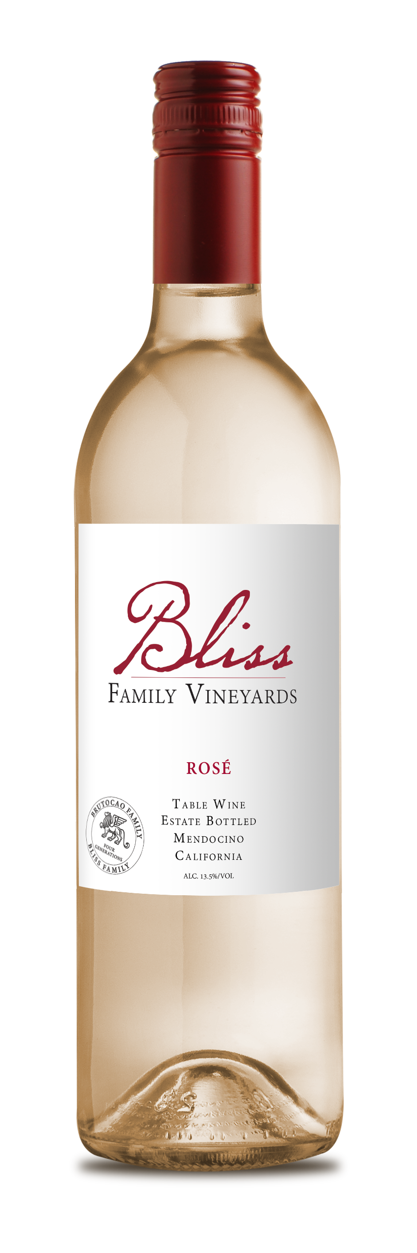 2018 Bliss Family Vineyards Estate Rosé (750ml)