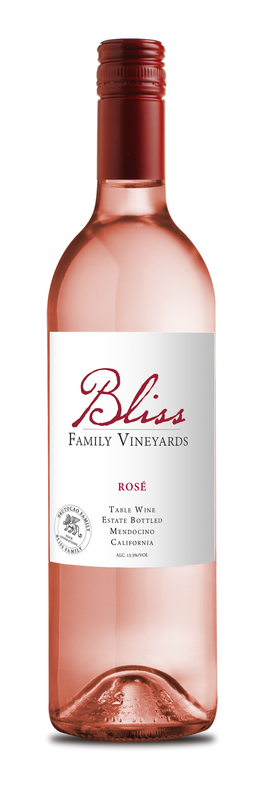 2019 Bliss Family Vineyards Estate Rosé (750ml)