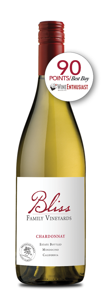 2017 Bliss Family Vineyards Estate Chardonnay 750ml