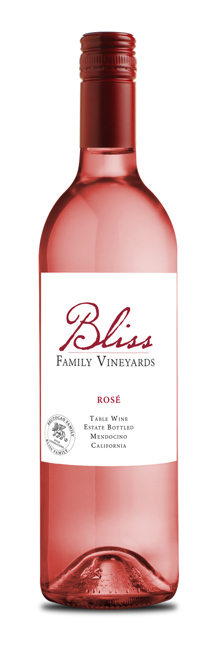 2017 Bliss Family Vineyards Estate Rosé (750ml)