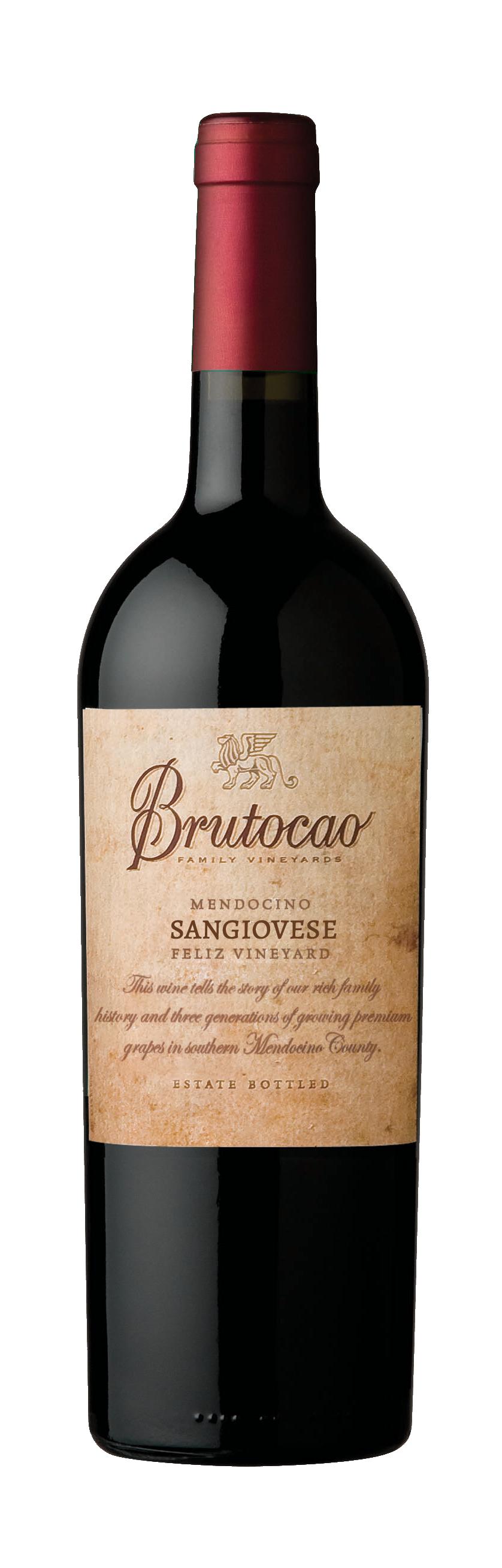 2017 Sangiovese, Feliz Vineyard, Estate Bottled (750mL)