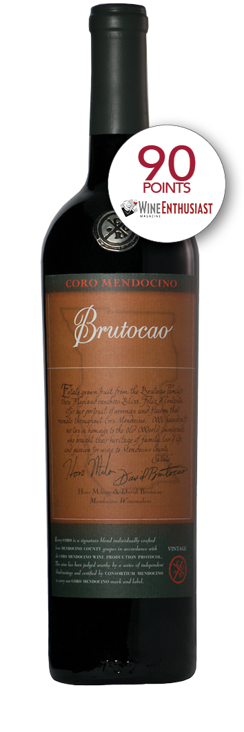 2015 Coro Mendocino, Brutocao Vineyards, Estate Bottled (750ml)