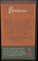 2011 Coro Mendocino, Brutocao Vineyards, Estate Bottled (750ml)