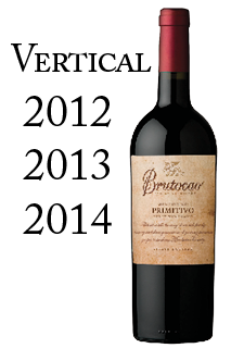 Primitivo Vertical - 2012, 2013, 2014 (3x750ml)