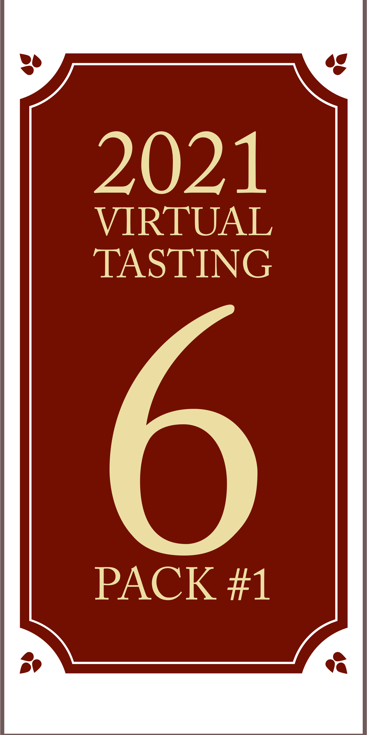 2021 Virtual Tasting 6 pack #1 (6x750ml)