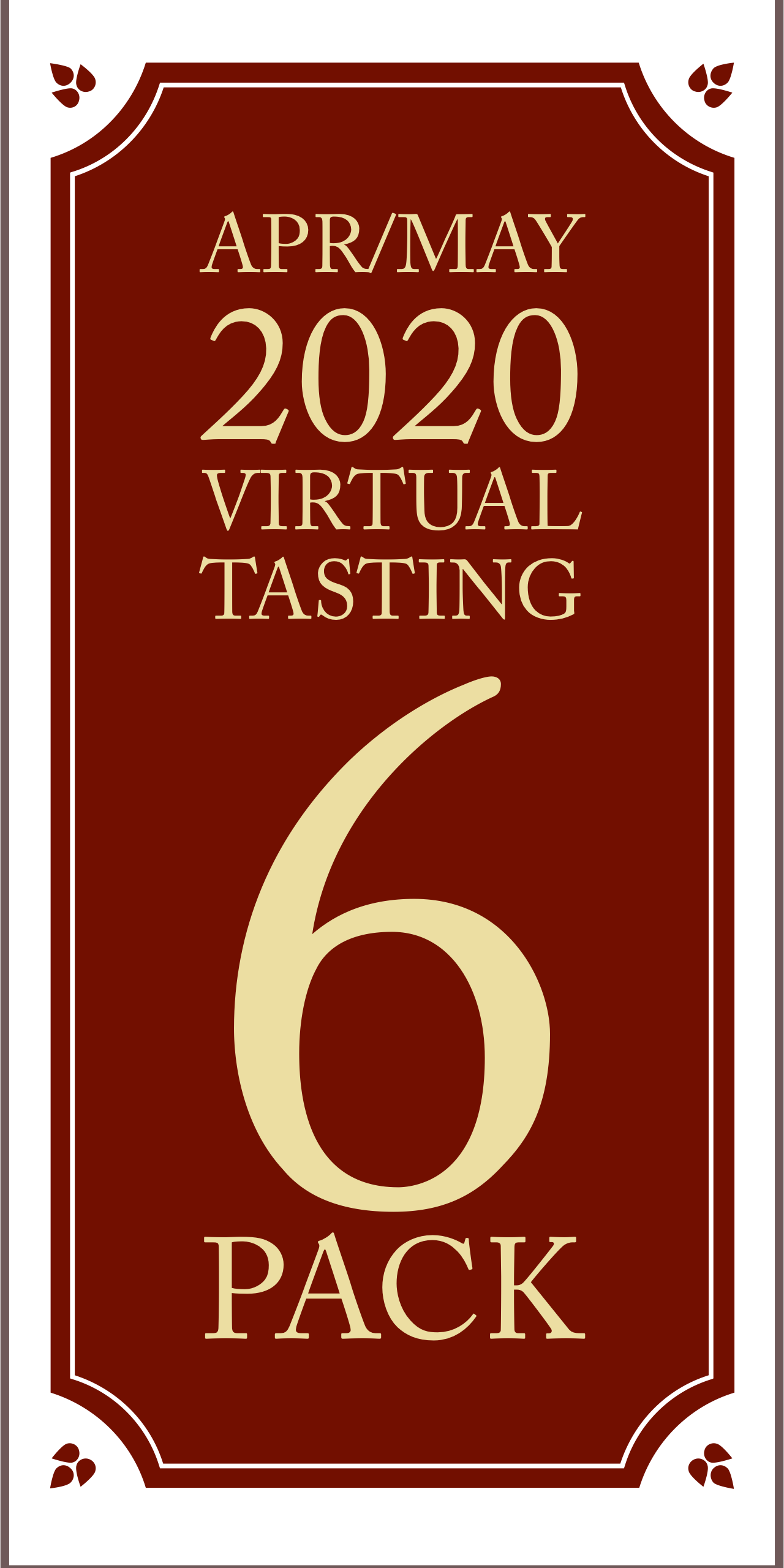 April/May 2020 Virtual Tasting 6 pack #2 (6x750ml)