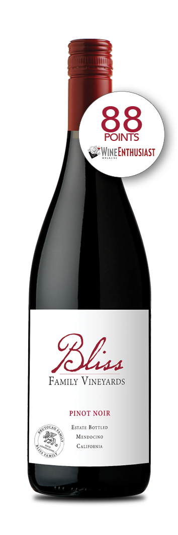 2017 Bliss Family Vineyards Estate Pinot Noir (750ml)