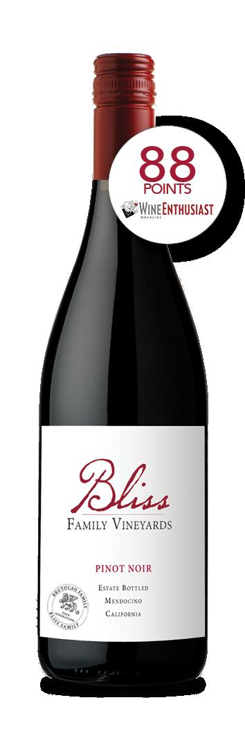 2017 Bliss Family Vineyards Estate Pinot Noir (750ml)