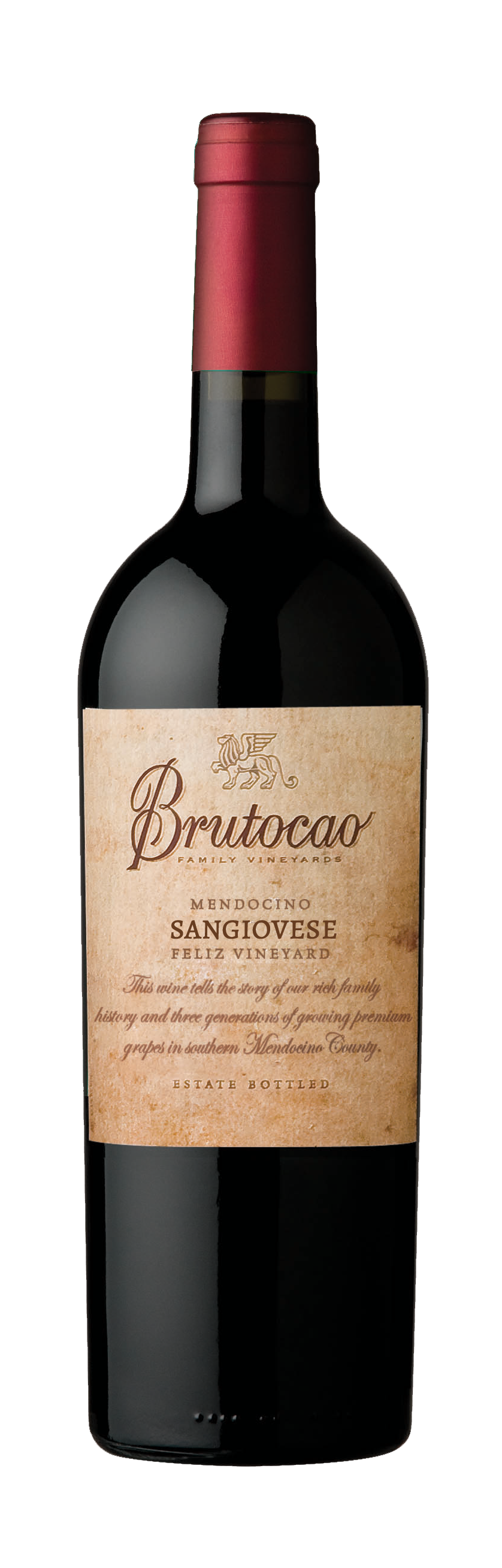 2017 Sangiovese, Feliz Vineyard, Estate Bottled (750mL)