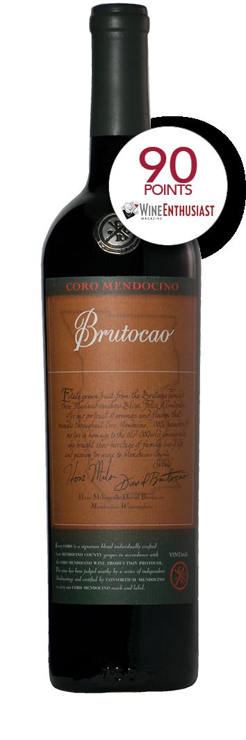2016 Coro Mendocino, Brutocao Vineyards, Estate Bottled (750ml)