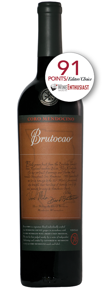 2012 Coro Mendocino, Brutocao Vineyards, Estate Bottled (750ml)