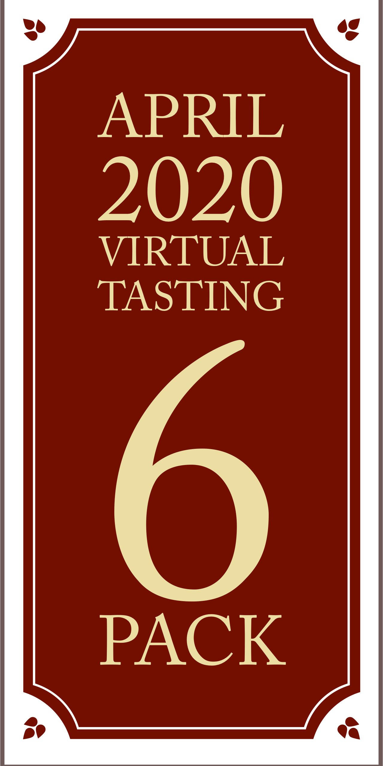 April 2020 Virtual Tasting 6 pack (6x750ml)