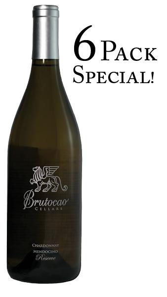 2016 Reserve Chardonnay, Estate Bottled 6 PACK (6 x 750mL)
