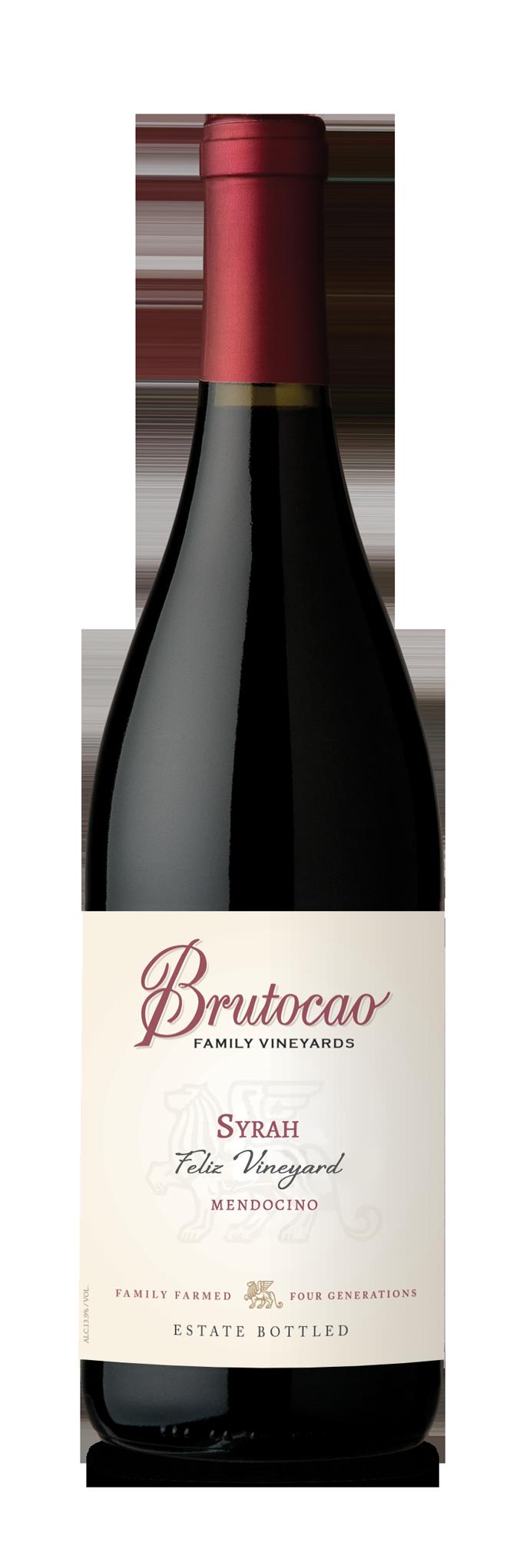 2014 Syrah, Feliz Vineyard Select, Estate Bottled (750ml)