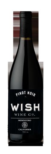 2016 Wish Pinot Noir -  Mendocino (750ml)