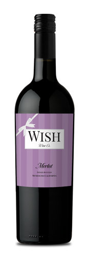 2018 Wish Merlot -  Mendocino (750ml)