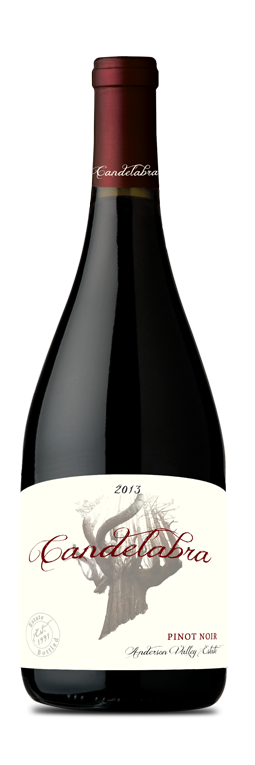 2013 Candelabra Pinot Noir, Anderson Valley, Estate Bottled (750ml)