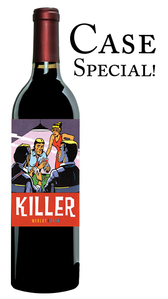 2010 Killer Merlot CASE (12 x 750mL)