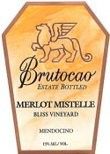 2015 Merlot Mistelle - Bliss Vineyard (375 ml)