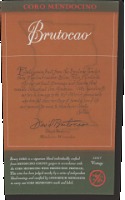 2011 Coro Mendocino, Brutocao Vineyards, Estate Bottled (750ml)